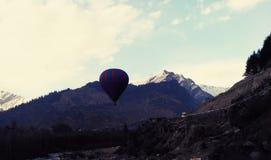 1 μπαλόνι αέρα καυτό στοκ φωτογραφίες