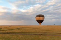 Μπαλόνι ζεστού αέρα πέρα από το Masai Mara, Κένυα, Αφρική στοκ φωτογραφίες με δικαίωμα ελεύθερης χρήσης