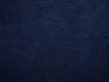Μπλε ναυτικό ύφασμα καμβά στοκ φωτογραφίες