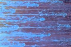 Μπλε χρωματισμού στο πορφυρό πάτωμα, αφηρημένο ύφος ελεύθερη απεικόνιση δικαιώματος