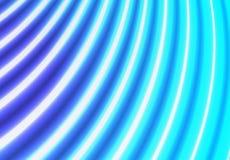 Μπλε υπόβαθρο σχεδίων γραμμών νέου στοκ φωτογραφία