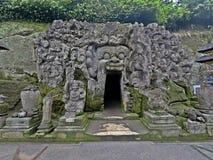 Ναός Gajah Goa, Μπαλί στοκ εικόνα