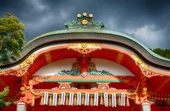 Ναός Inari Fushimi, Κιότο, Ιαπωνία στοκ εικόνες