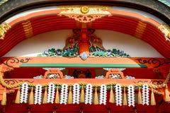 Ναός Inari Fushimi, Κιότο, Ιαπωνία στοκ εικόνες με δικαίωμα ελεύθερης χρήσης