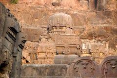 Ναός Kailash σε Ellora στοκ φωτογραφία με δικαίωμα ελεύθερης χρήσης