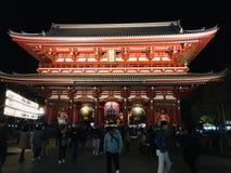 Ναός Kannon Asakusa στοκ φωτογραφία με δικαίωμα ελεύθερης χρήσης