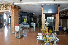 Ναός Sri Ganeshar Kortumalai, Κουάλα Λουμπούρ, Μαλαισία στοκ φωτογραφία με δικαίωμα ελεύθερης χρήσης