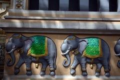 Ναός Sri Ganeshar Kortumalai, Κουάλα Λουμπούρ, Μαλαισία στοκ φωτογραφίες