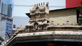 Ναός Sri Ganeshar Kortumalai, Κουάλα Λουμπούρ, Μαλαισία στοκ φωτογραφίες με δικαίωμα ελεύθερης χρήσης