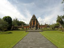 Ναός Taman Ayun Pura, Μπαλί στοκ εικόνα