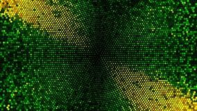 Να αναβοσβήσει υπόβαθρο βρόχων κύκλων πινάκων φω'των διανυσματική απεικόνιση