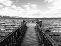 Νερό γεφυρών στη Βαυαρία Λίμνη στοκ φωτογραφίες με δικαίωμα ελεύθερης χρήσης