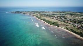 Νερό Beach Punta de Mita MX κρυστάλλου απόθεμα βίντεο