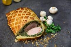 Νόστιμο βόειο κρέας Ουέλλινγκτον στοκ εικόνα με δικαίωμα ελεύθερης χρήσης