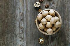 Ξύλα καρυδιάς για μια υγιεινή διατροφή στοκ εικόνες