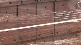 Οικοδομικά υλικά ή συσκευασμένο φορτίο φιλμ μικρού μήκους