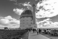 Οικοδόμηση του SALT τηλεσκόπιο 11 μέτρων κοντά σε Sutherland μονοχρωματικός στοκ φωτογραφία με δικαίωμα ελεύθερης χρήσης