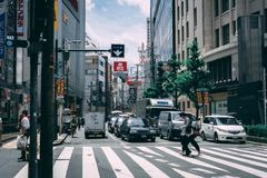 Οδικό πέρασμα της Ιαπωνίας στοκ εικόνες