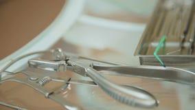 Οδοντικός ιατρικός εξοπλισμός σε 4K φιλμ μικρού μήκους