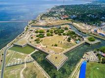 Οχυρό Jaffna, που χτίζεται από τους Πορτογάλους κοντά σε Karaiyur, Jaffna, Σρι Λάνκα Φρούριο της κυρίας θαυμάτων μας Jafanapatao στοκ φωτογραφίες με δικαίωμα ελεύθερης χρήσης