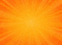 Ο αφηρημένος ήλιος εξερράγη το πορτοκαλί υπόβαθρο σχεδίου σύστασης σχεδίων κύκλων χρώματος Μπορείτε να χρησιμοποιήσετε για τις πω διανυσματική απεικόνιση