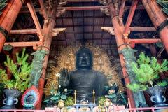 Ο μεγάλος Βούδας, Νάρα, Ιαπωνία στοκ φωτογραφία