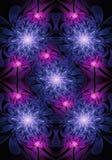 Ο μοναδικός φωτεινός αφηρημένος καλλιτεχνικός υπολογιστής παρήγαγε το φωτεινό fractals τριαντάφυλλων υπόβαθρο έργου τέχνης ελεύθερη απεικόνιση δικαιώματος
