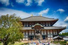 Ο ναός Todai, Νάρα, Ιαπωνία στοκ φωτογραφία με δικαίωμα ελεύθερης χρήσης