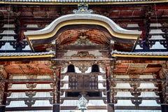 Ο ναός Todai, Νάρα, Ιαπωνία στοκ εικόνες με δικαίωμα ελεύθερης χρήσης