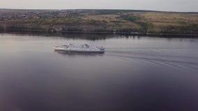 Ο ποταμός ταξιδεύει το σκάφος απόθεμα βίντεο
