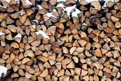 δάσος σύστασης δαχτυλιδιών σωρών μερών κούτσουρων λεπτομέρειας ξύλινο στοκ φωτογραφία με δικαίωμα ελεύθερης χρήσης