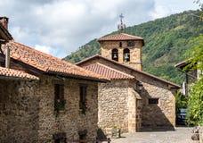 Δήμαρχος Barcena, κοιλάδα Cabuerniga Cantabria, Ισπανία στοκ φωτογραφία