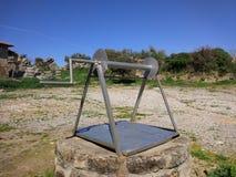 Δευτερεύων παράδεισος μνημείων Vespasionus στοκ φωτογραφία με δικαίωμα ελεύθερης χρήσης
