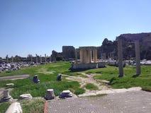 Δευτερεύων παράδεισος μνημείων Vespasionus στοκ εικόνα