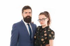 διάνυσμα ανθρώπων επιχειρησιακής απεικόνισης jpg Άνδρας συνέταιρων με τη συνεδρίαση επίσκεψης γενειάδων και γυναικών την επιχειρη στοκ εικόνες