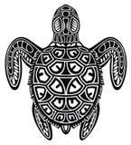 Διακοσμητική γραφική χελώνα θάλασσας απεικόνιση αποθεμάτων