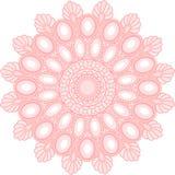 διακόσμηση mandala για το σχέδιο Ιστού στοκ εικόνα