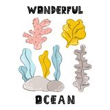 Διανυσματικά ζώα θάλασσας ελεύθερη απεικόνιση δικαιώματος