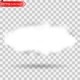 Διαφανές ειδικό εφέ ομίχλης ή καπνού απεικόνιση αποθεμάτων