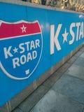 Δρόμος Κ-αστεριών της Σεούλ! στοκ εικόνα με δικαίωμα ελεύθερης χρήσης