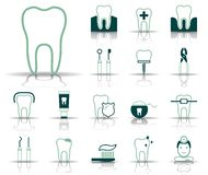 Δόντι & οδοντιατρική - Iconset - εικονίδια απεικόνιση αποθεμάτων