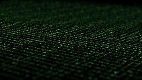 Δυναμικό Isometric πλέγμα αστραπής πράσινο ελεύθερη απεικόνιση δικαιώματος