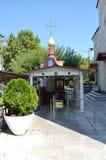 Τhe kyrka av St John det ryskt (den Agios Ioannis nollan Rossos) Royaltyfria Bilder