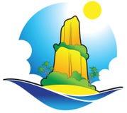île illustration stock