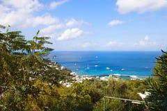 Île #3 de Capri Images libres de droits