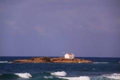 Île Afentis Christos, Malia photos libres de droits
