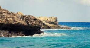 Île atlantique Photographie stock