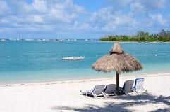 Île au soleil Photo stock