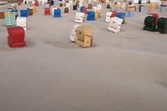 Île Borkum de la Mer du Nord Images libres de droits
