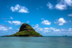 Île chinoise de chapeau image libre de droits